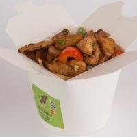 Цыпленок с картофелем по-сычуаньски, вес: 440 грамм