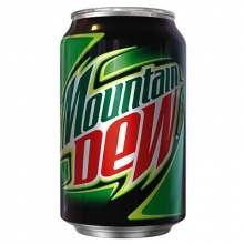 Mountain dew 0.33 л.
