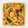 Жареный рис с морепродуктами, вес: 300 грамм