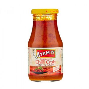 """Соус на основе растительных масел """"Сингапурский чили краб"""" AYAM 250 г, ст/б"""