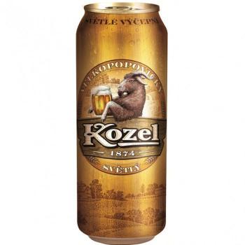 Пиво Velkopopovicky Kozel светлое 4,0%