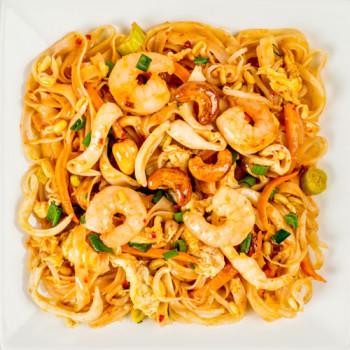 Пад Тай с морепродуктами