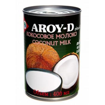 """Кокосовое молоко """"AROY-D"""", 400 мл, ж/б (растительные жиры 17-19%)"""