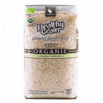 Органический тайский коричневый рис жасмин 1 кг. (вакуум - Тайланд)