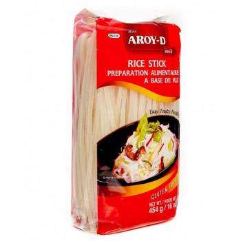 Рисовая лапша 5 мм AROY-D уп. 454 г.
