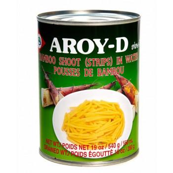 """Ростки бамбука """"AROY-D"""" (полосками), ж/б 540 г."""