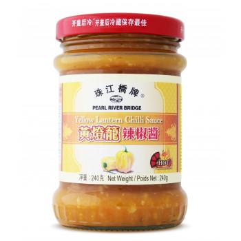 Соус из хайнаньского перца чили лантерн (желтый фонарь) ст. бан. 240 г.