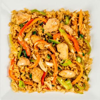 Тайваньский рис с цыпленком