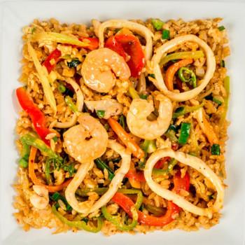 Тайваньский рис с морепродуктами