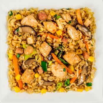 Шанхайский рис с цыпленком